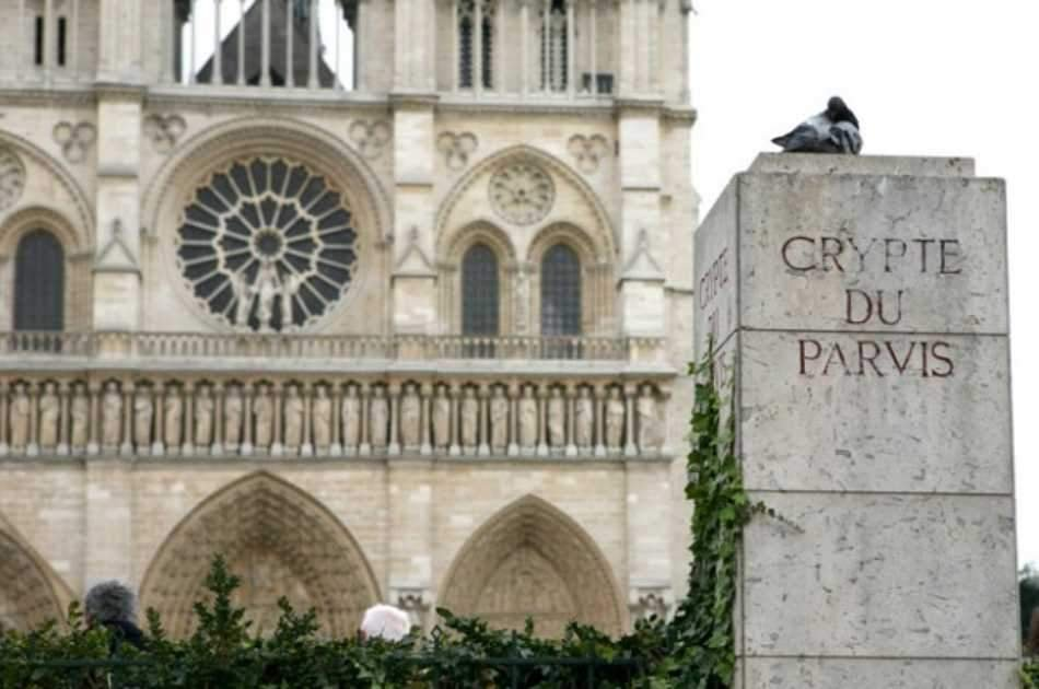 Guided Tour of Notre Dame Cathedral and Tour of the Crypt