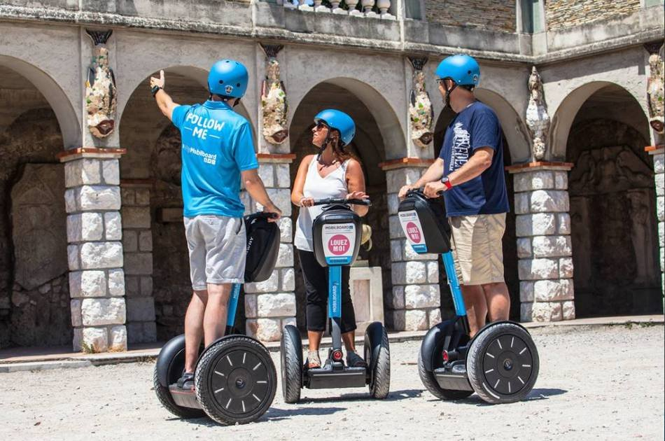 Tour Monaco and Eze by Van and Segway Tour of Nice