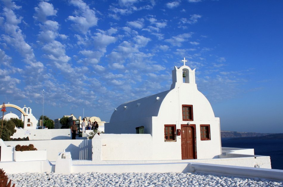 Private Half-Day Sightseeing Tour of Santorini
