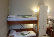 Bed in 2-Bed Mixed Dormitory Room with Shared Bathroom