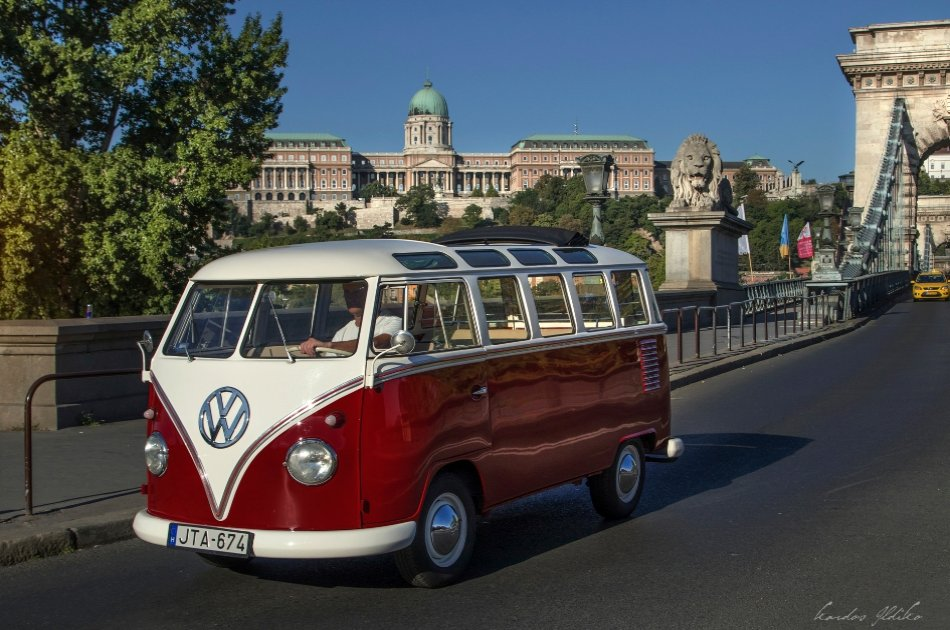 Budapest Private Sightseeing Tour by Volkswagen Samba Bus
