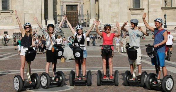 Castle District Segway Tour - Budapest