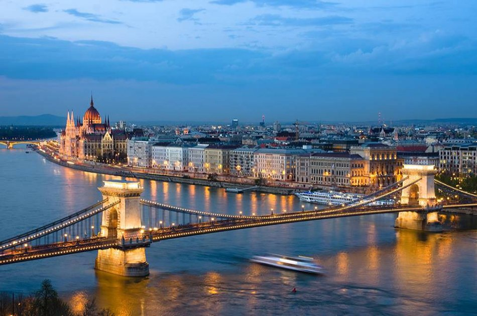 Dinner, Cruise with Fireworks - 20 August in Budapest