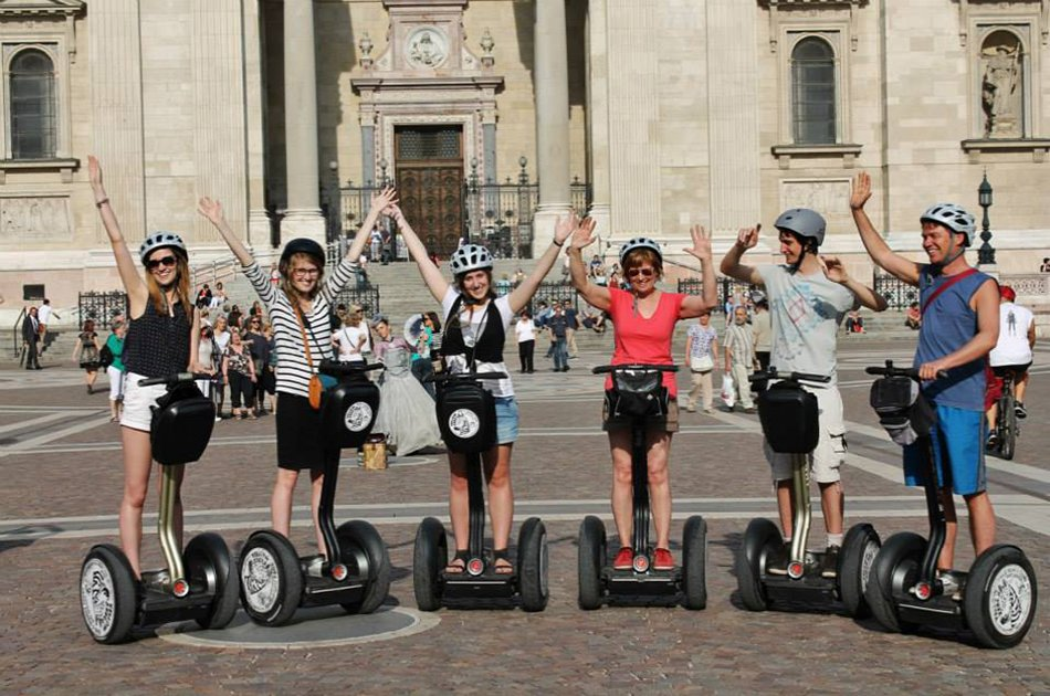 Grand City Center Segway Tour Budapest