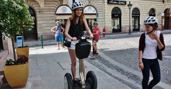 Grand City Center Segway Tour Budapest