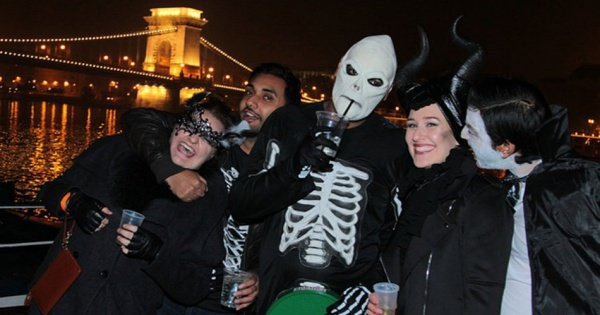 HalloWeen Party Cruise on the Danube in Budapest