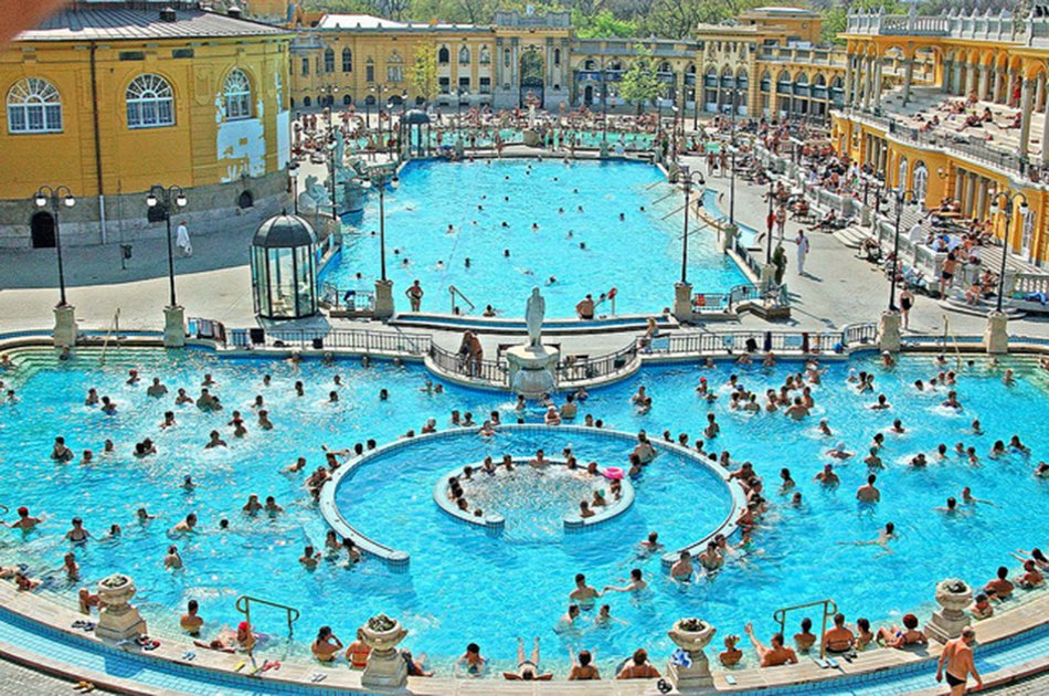 Széchenyi SPA - Skip the line Tickets with Optional Pick Up in Budapest