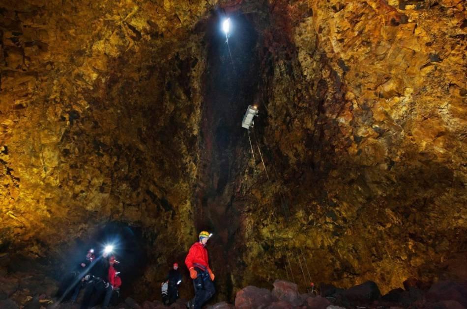 Inside the Volcano Tour