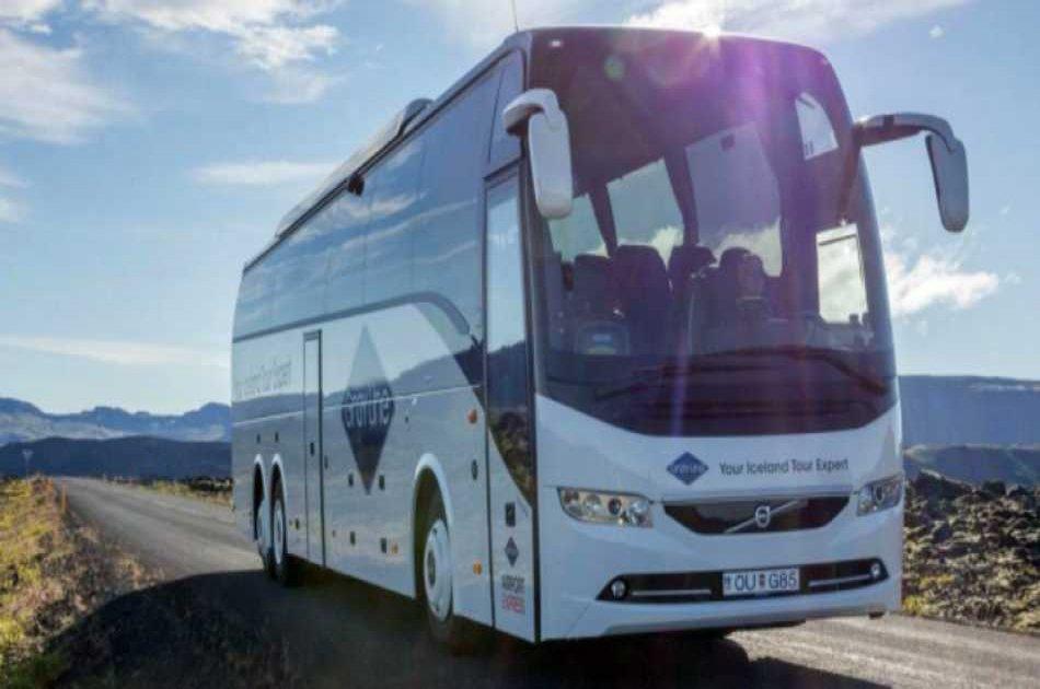Keflavik Airport to Reykjavik Gray Line Bus Terminal