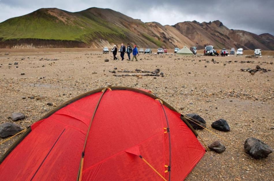 Landmannalaugar Pearl of the Highlands – Hiking & Bathing Tour