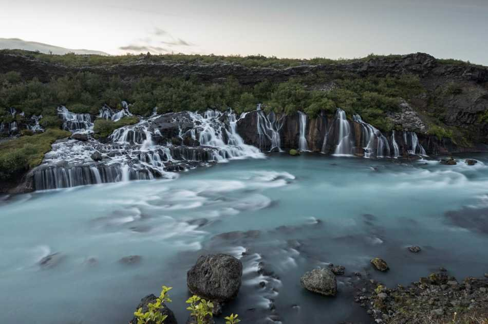 Lava Cave, Thermal Pool and Waterfalls
