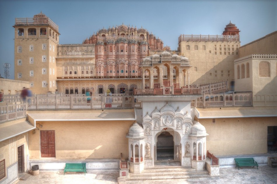 1-day Golden Triangle Tour to Agra and Jaipur From Delhi