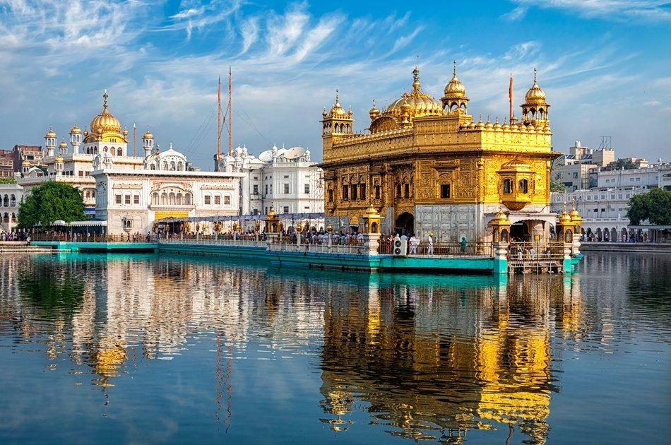 3 Days Taj Mahal Agra with Golden Temple Amritsar Tour from Delhi.
