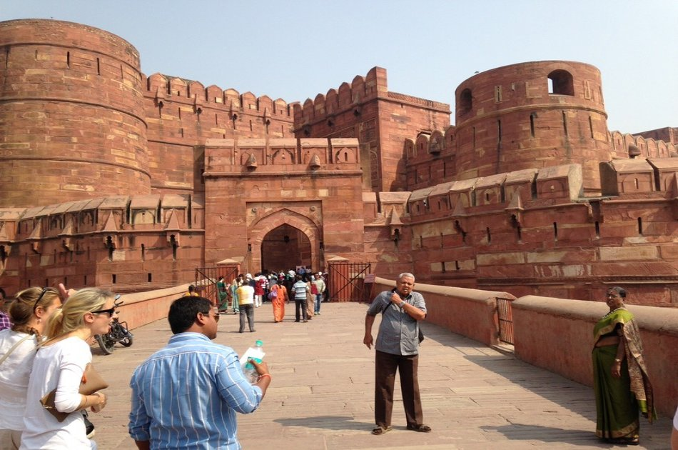 Delhi Agra Same Day By Car with Heritage City Walk Private Tour