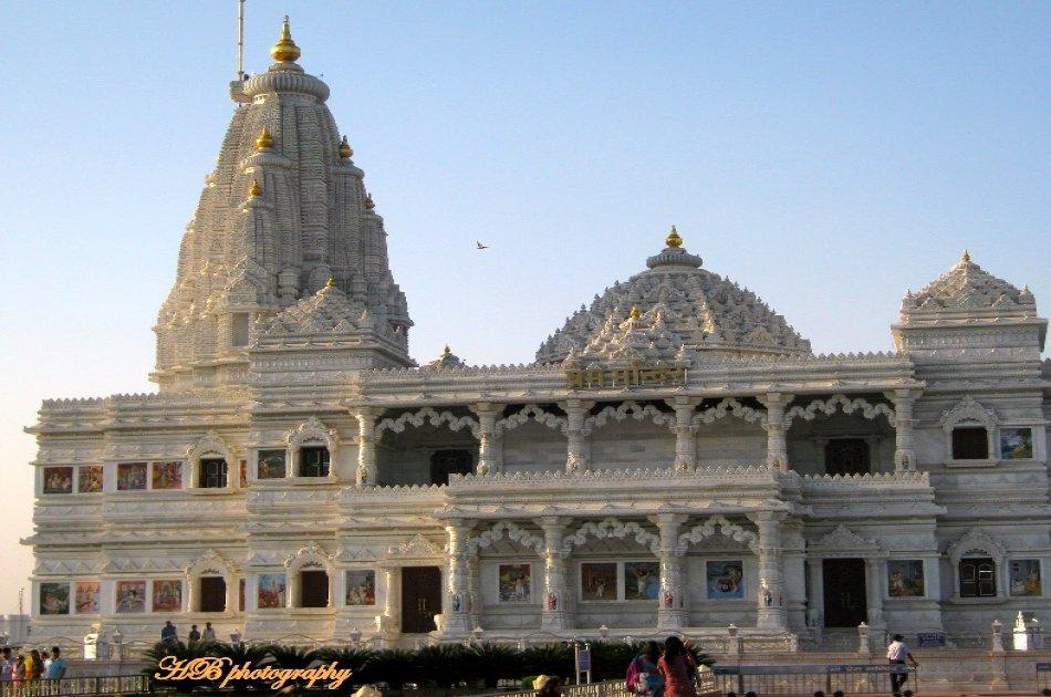Full Day Trip to Vrindavan & Mathura from Delhi