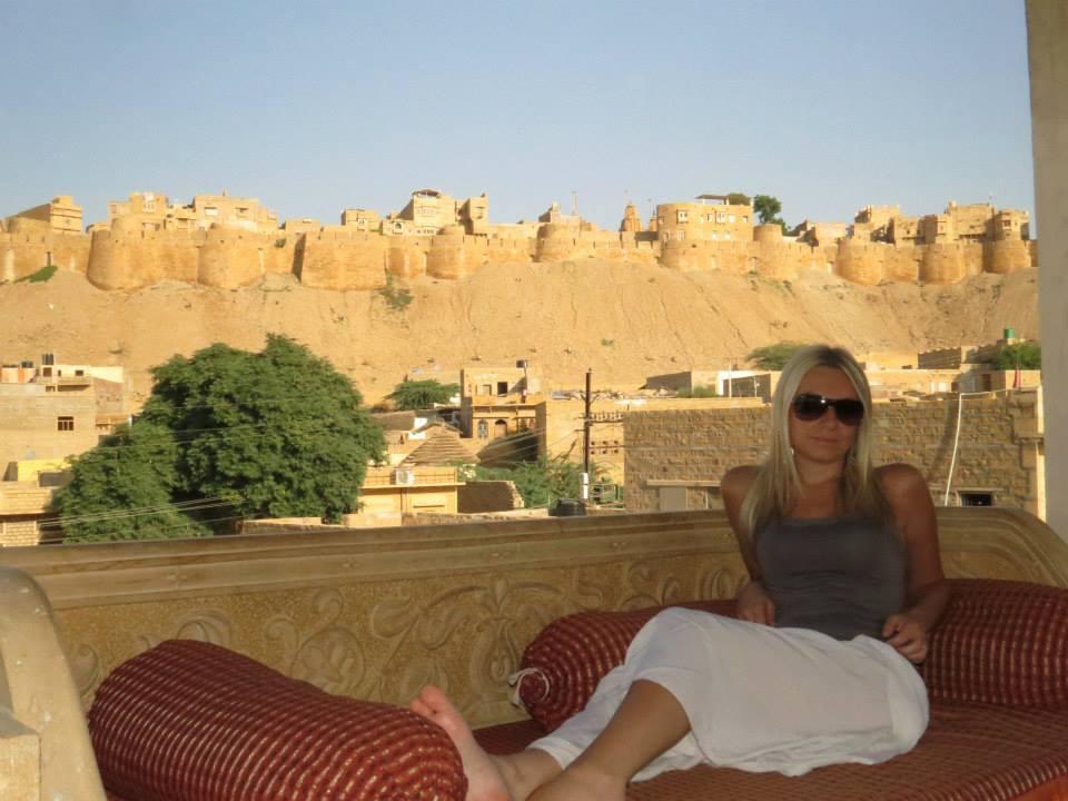 Rajasthan India Taj Mahal Village Trip