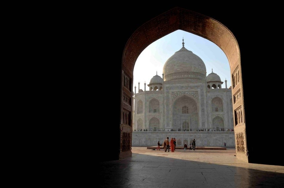 Private Full-Day Tour of Taj Mahal and Agra Fort from Delhi