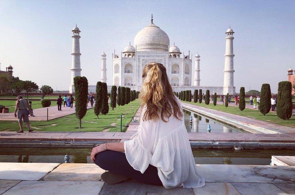 Private Sunrise Taj Mahal Tour From Delhi With Entrances