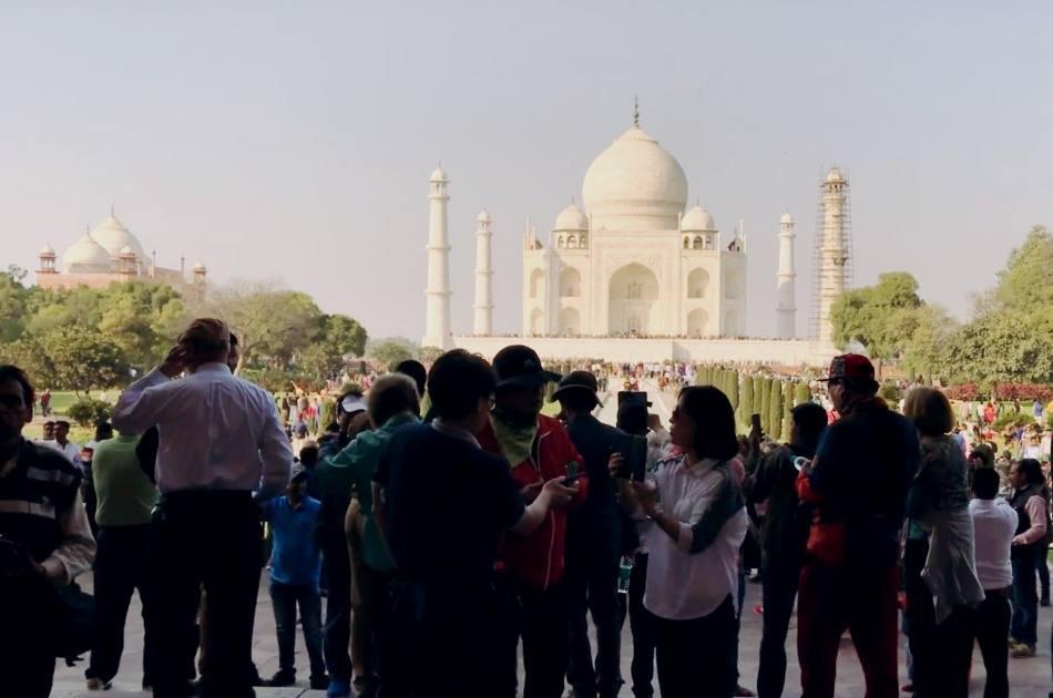 Private Taj Mahal Same Day Tour By Car From Delhi