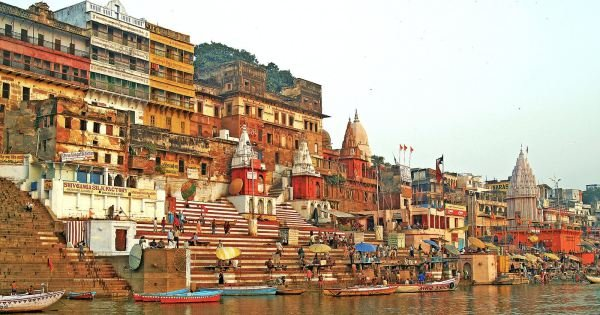 "Insight Varanasi Tour ""Morning Boat Ride, Sarnath & Ganga Aarti"""