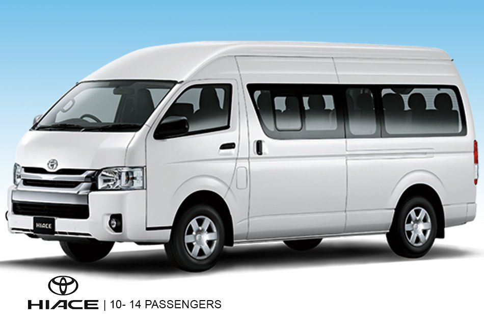 10 Hour Minibus Rental With Driver