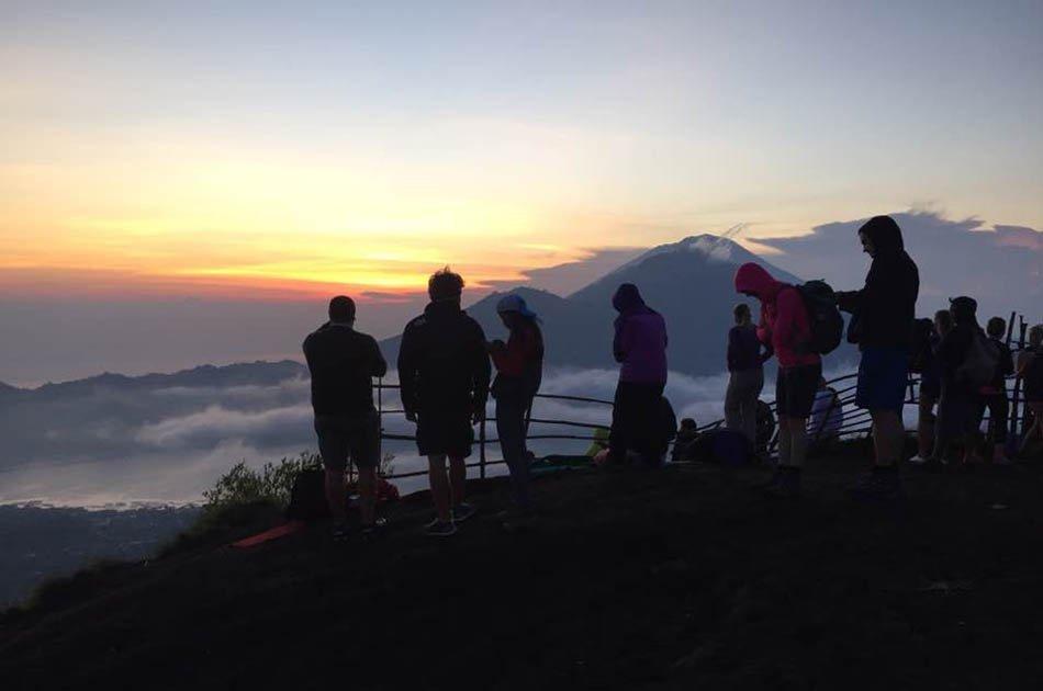 Bali Mount Batur Sunrise Hike and Natural Hot Spring Group Tour
