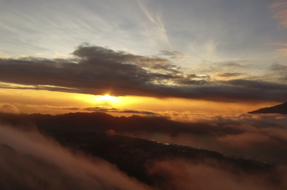 Bali's Batur Volcano Sunrise Trekking and Hot Spring