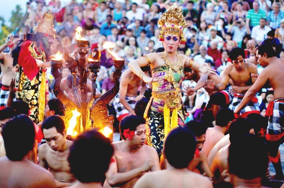 Balinese Massage, Uluwatu Temple & Kecak Dance