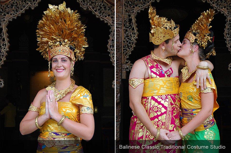 Balinese Traditional Costume Photo Shoot