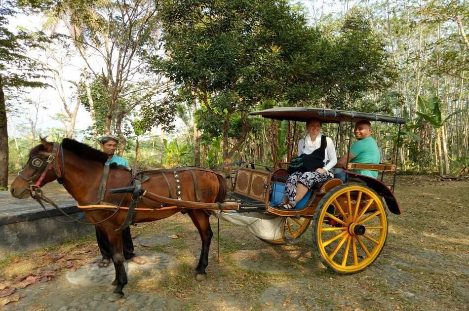 Horse Carriage Village Tours in Borobudur, Yogyakarta