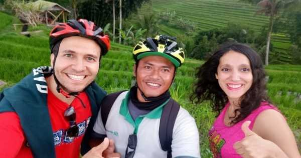 Jatiluwih & Surroundings E-bike Cycling Tour With Waterfall