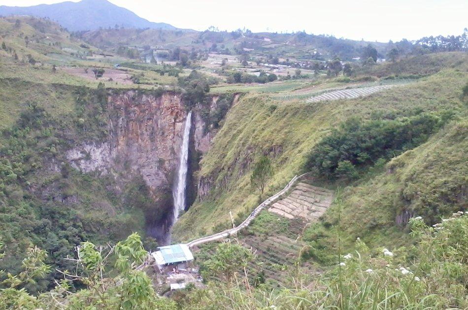 Medan Berastagi Highland and Waterfall