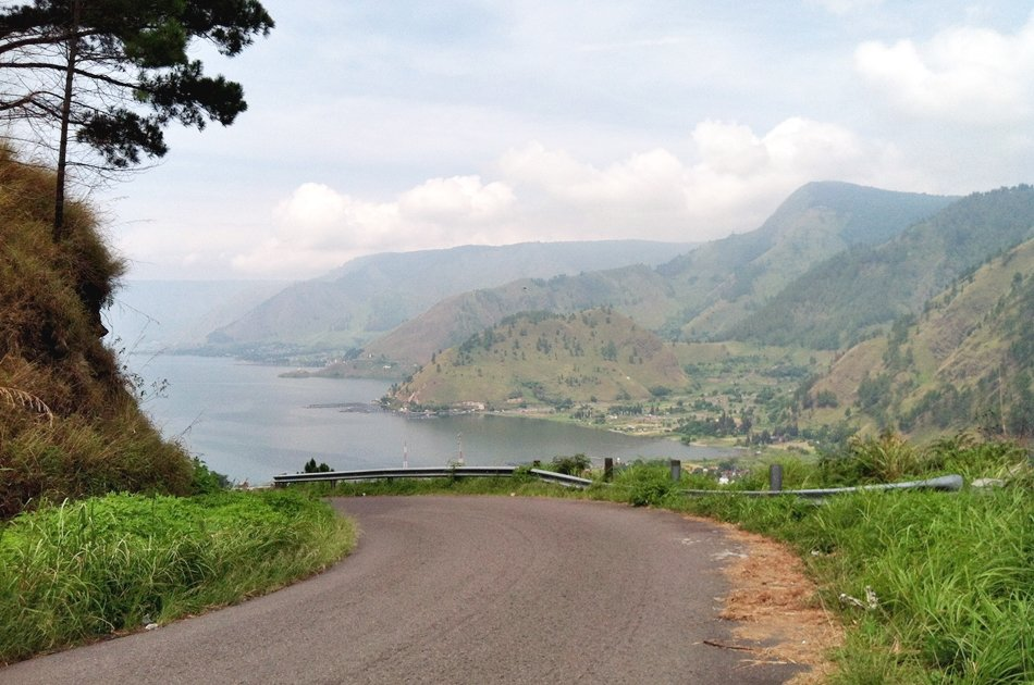 North Sumatra Karo Highland With Views of Lake Toba