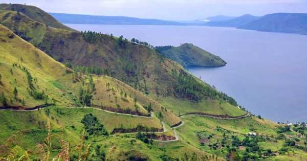 North Sumatra Karo Highland With Views of Lake Toba