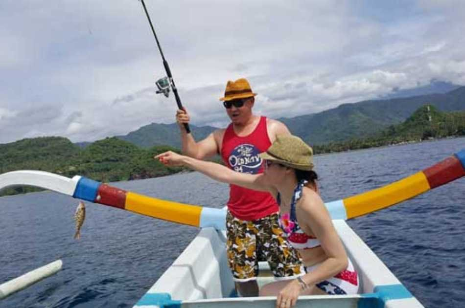 Private Coral Fishing With Traditional Boat in Bali