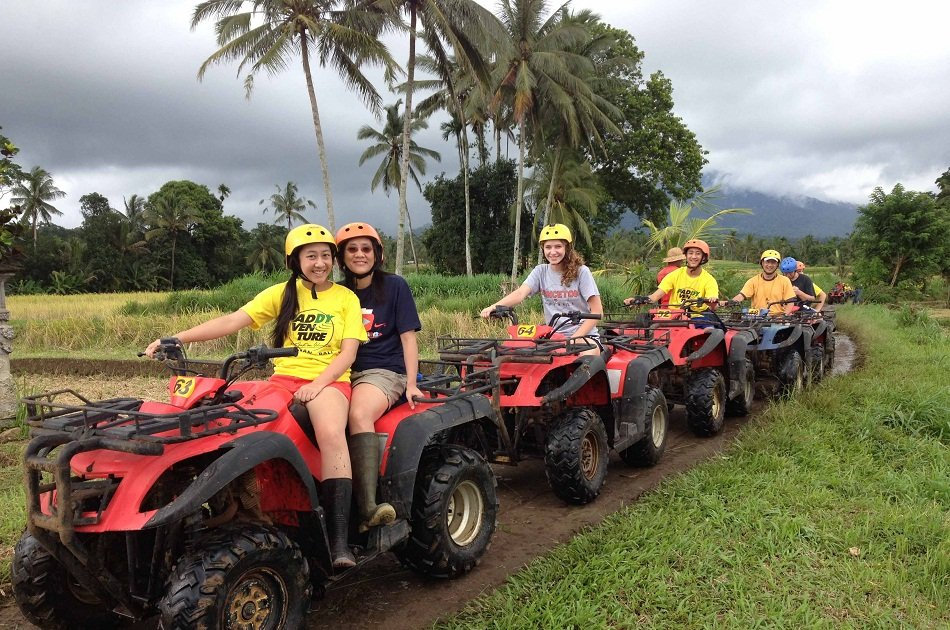 White Water Rafting and ATV Ride Private Tour in Bali