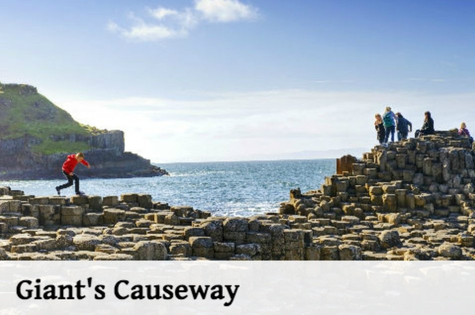 Giants Causeway and Belfast Titanic Group Tour from Dublin
