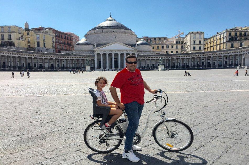 2 Hour Partenope Guided E-Bike Cycling Tour