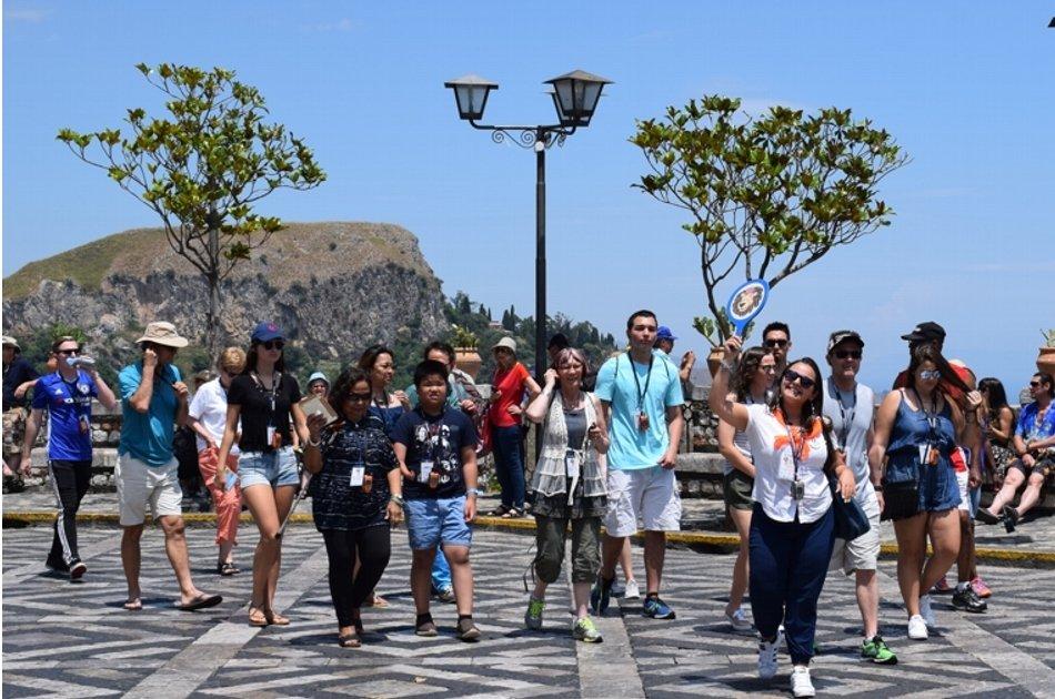 Alcantara & Taormina From Messina in Sicily