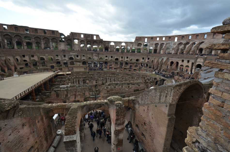 Ancient Rome Tour: Colosseum, Roman Forum & Palatine Hill With Pick-up Morning Tour