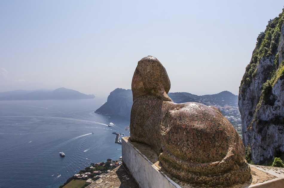 Capri Island with Blue Grotto