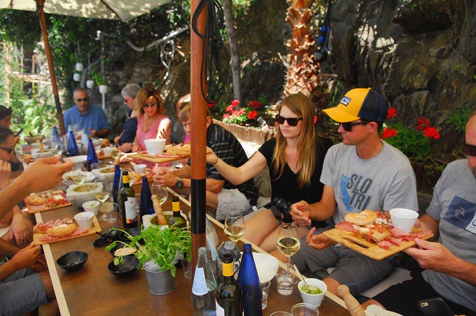 Cinque Terre Pesto Course with Lunch and Boat Trip from La Spezia