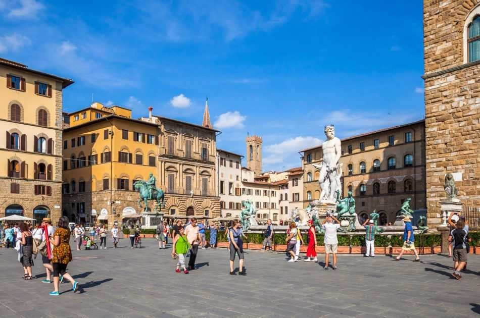 Florence Walking Tour With Wine Tasting at Sunset