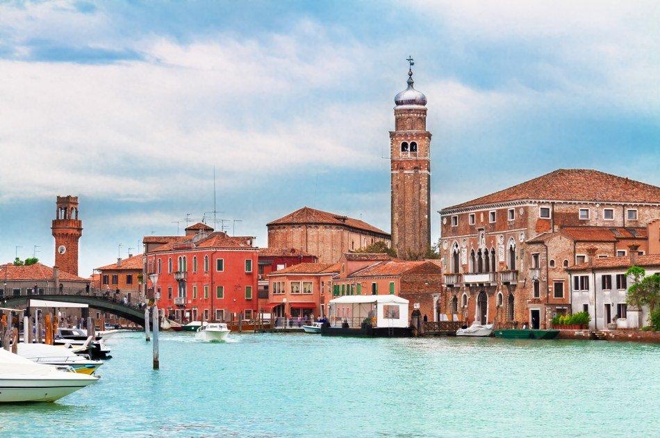 Half Day Murano & Burano Islands Boat Tour from Venice