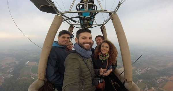 Hot Air Balloon Ride in Piedmont Italy