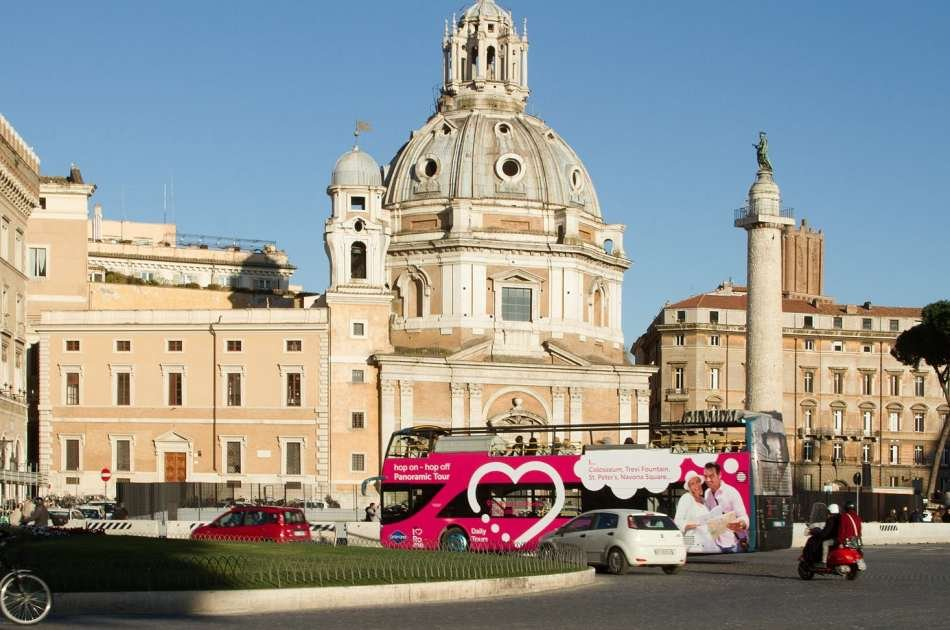 I Love Rome Hop on Hop Off Panoramic Tour (Valid for 48 Hours)
