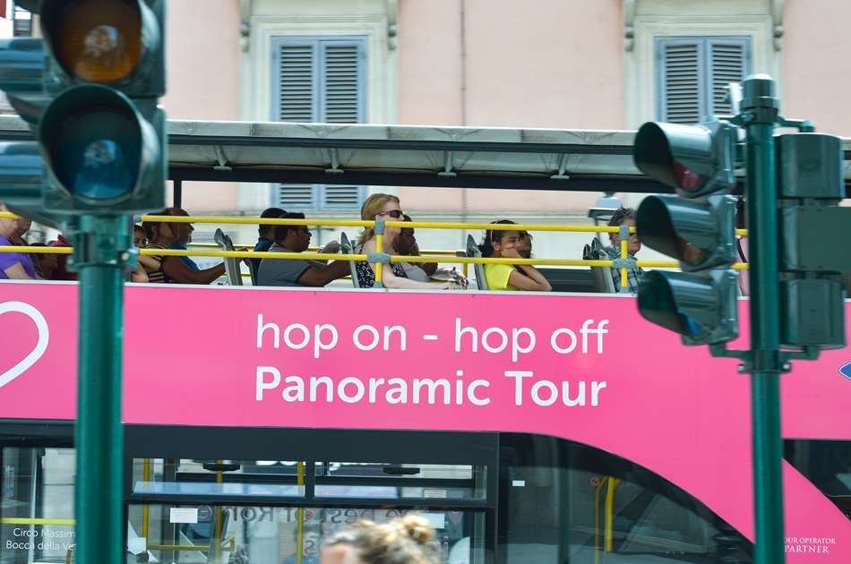 I Love Rome Hop on Hop Off Panoramic Tour With Special Offer After 13:15