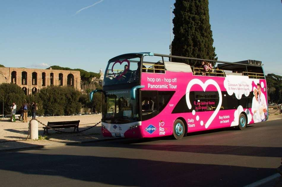 I Love Rome Hop On Hop Off Panoramic Tour
