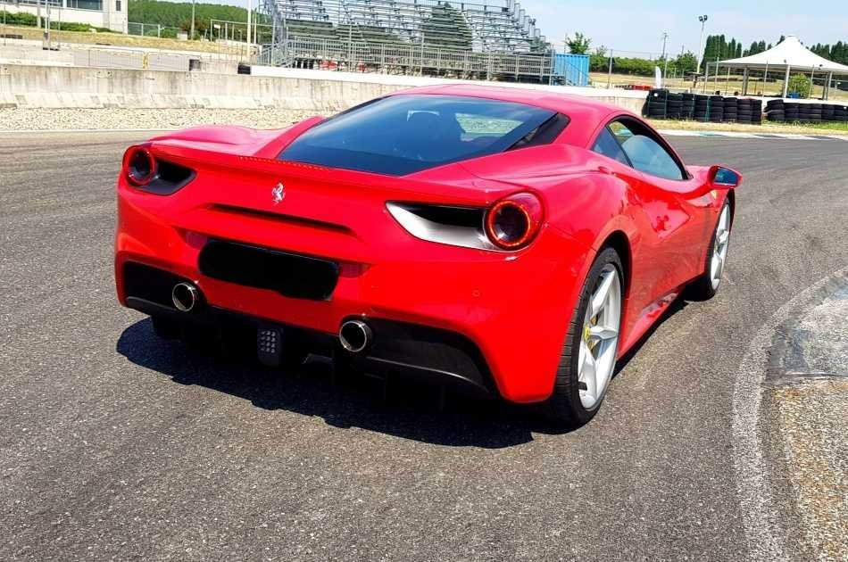 Milan Formula Racing Course and Laps With a Ferrari