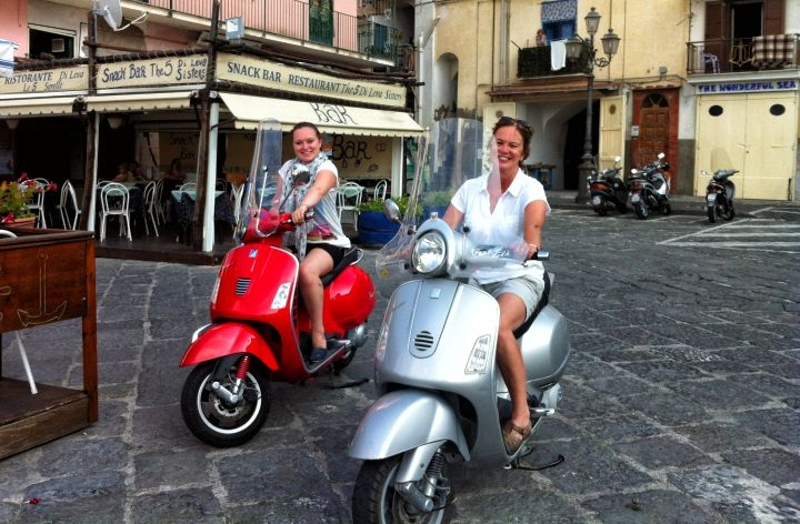 Guided Private Vespa Tour in Sorrento